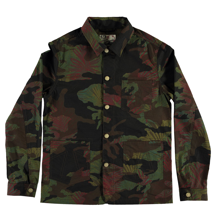 JC 673 Fit Jacket - Camo