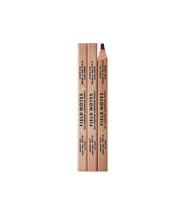 Carpenter Pencil - 3 Pack
