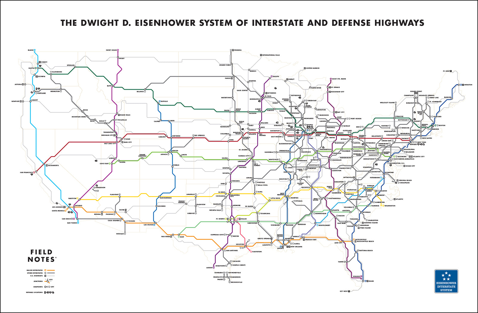 Nat'l Highway Map