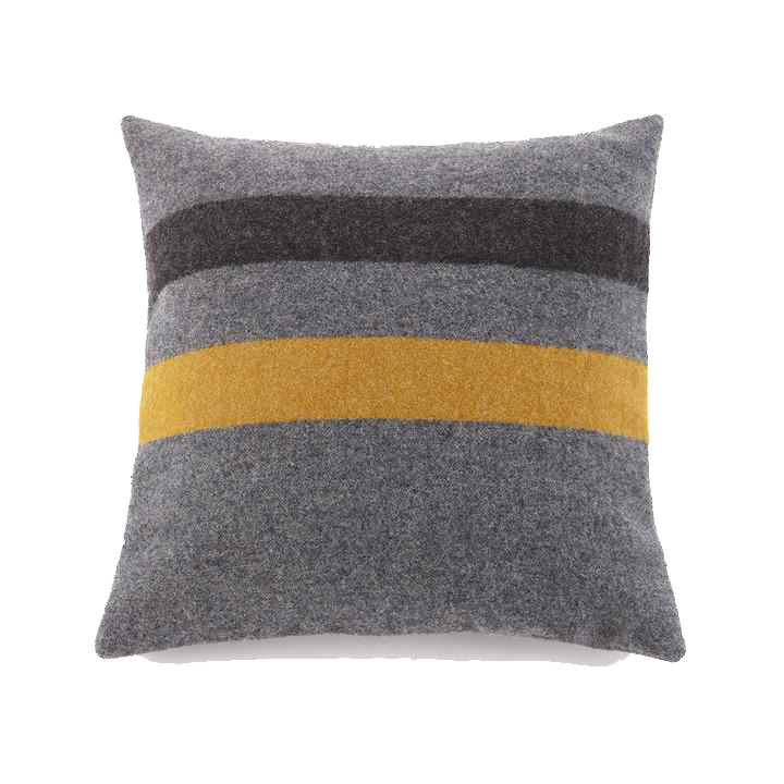 Foot Soldier Pillow - Gray/Gold