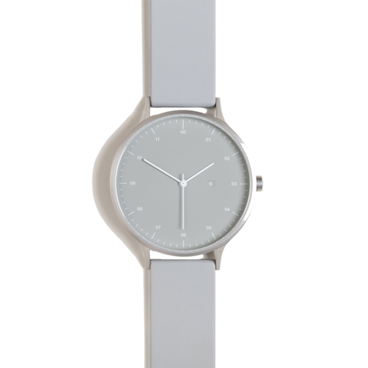 Instrmnt Watch - Silver/Light Grey