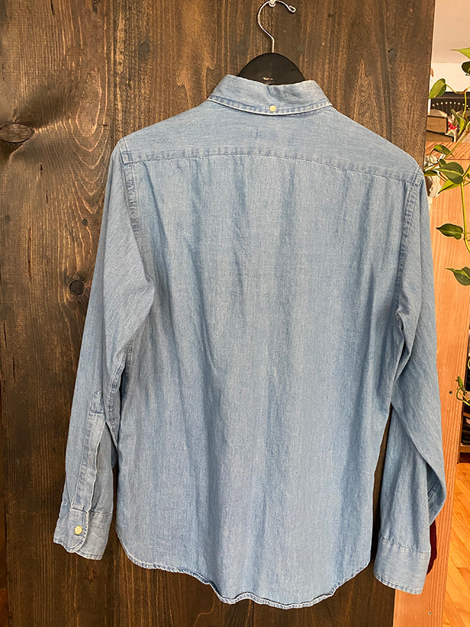 Gently Used Taylor Stitch - Sun Bleached Shirt - Medium