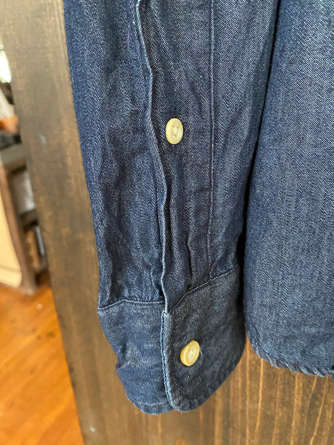 Gently Used Taylor Stitch - Sea Washed Denim Jack - Small