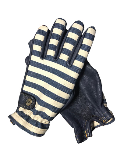 Folsom Gloves - Prison Stripe