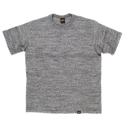 IHT-1610S - 6.5oz Loopwheel Crew Neck T-Shirt - Marled Grey