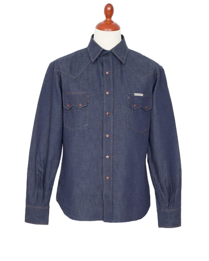 8oz Ryman Ohira Denim Shirt - Indigo