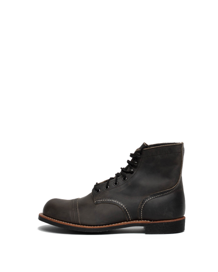 8086 Iron Ranger Boot - Charcoal Rough & Tough