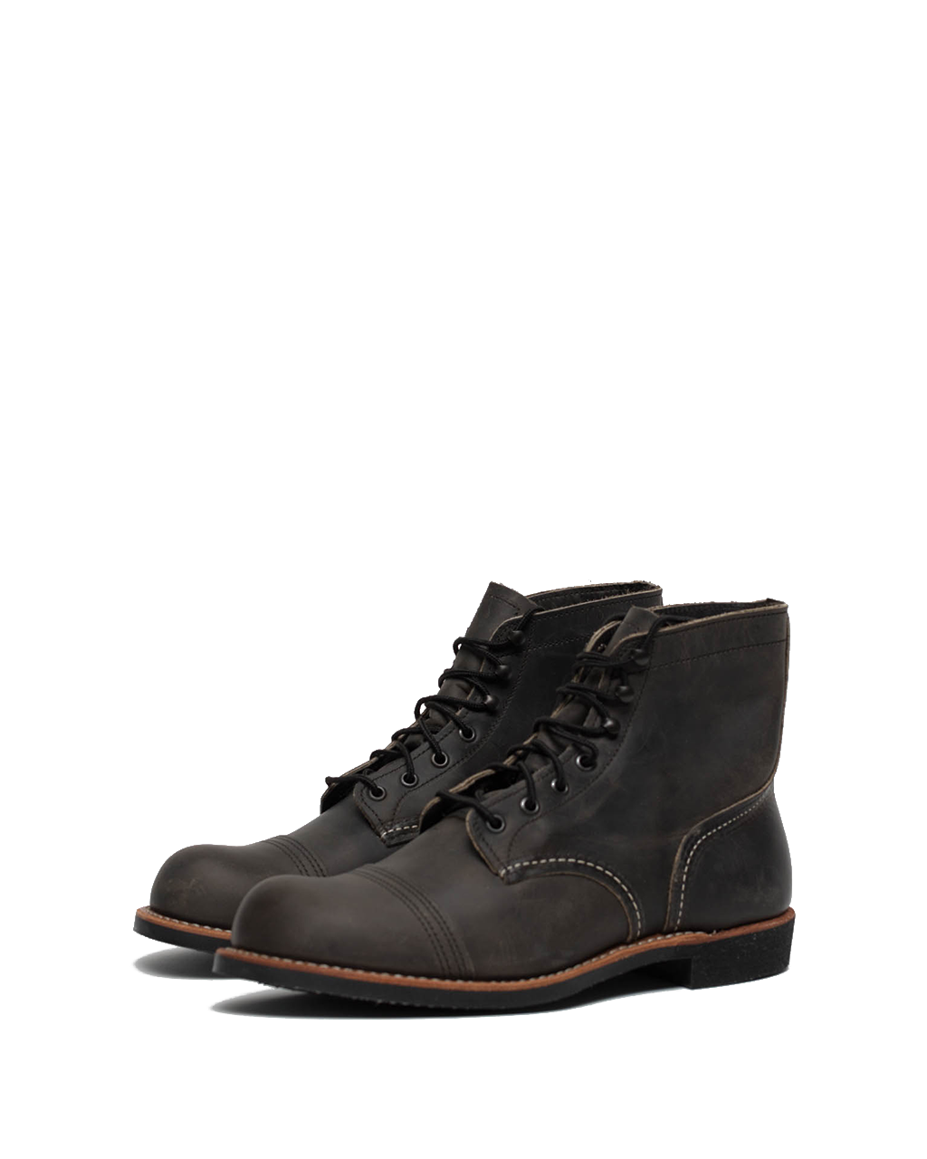 8086D - Iron Ranger Boot - Charcoal Rough & Tough