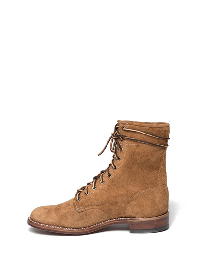 "The 9"" Pursue Boot — Crazy Roughout"