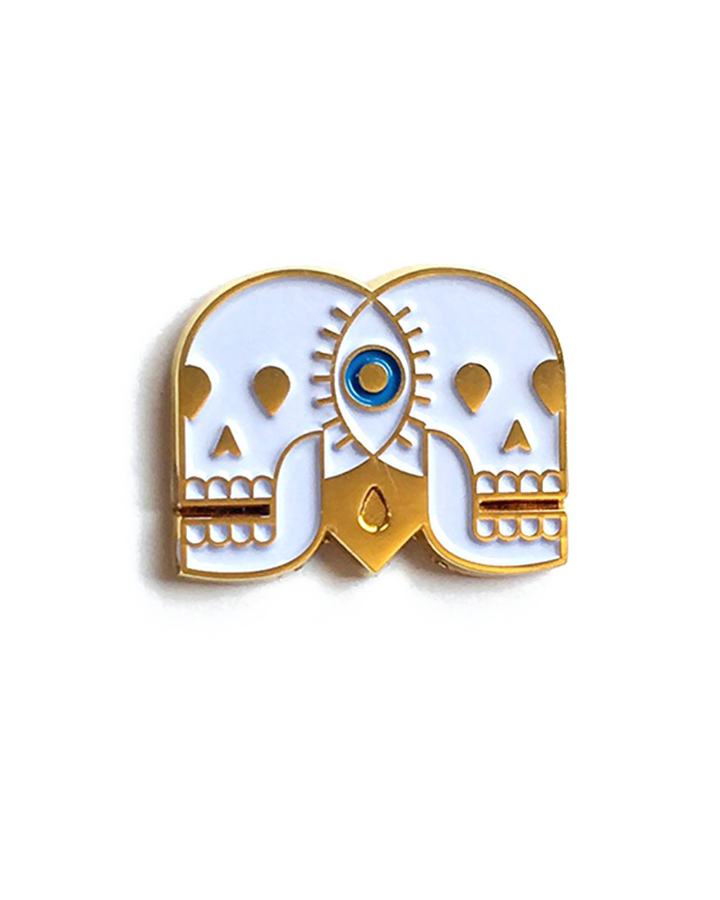 Eye See Us Together Forever Pin