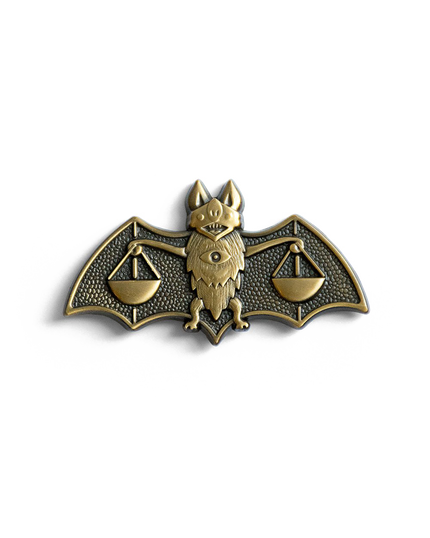 Blind Justice Pin