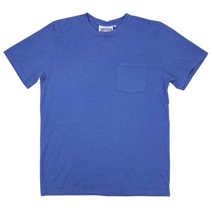 Baja Pocket Tee - Lake Blue