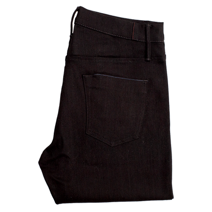 11oz - SOL Slim Taper Italian Denim - Noir
