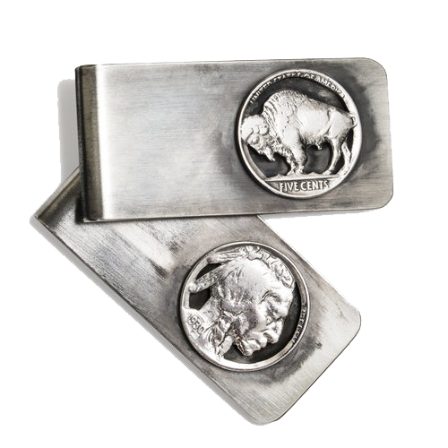 Nickel Money Clip