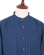 Muir Button Down - Indigo Wabash