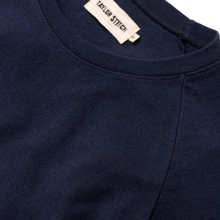 Heavy Bag Long Sleeve Tee - Navy