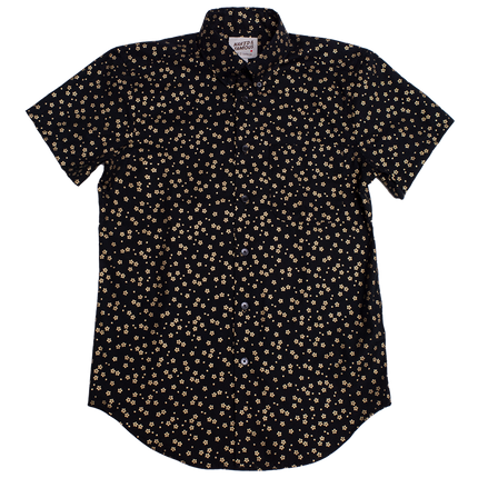 S/S Easy Shirt - Japanese Golden Flowers