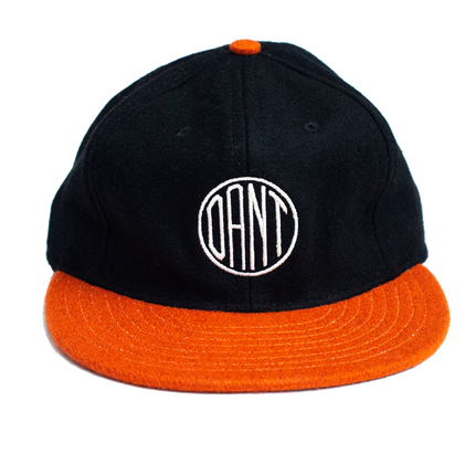 Dant Monogram Hat - Orange