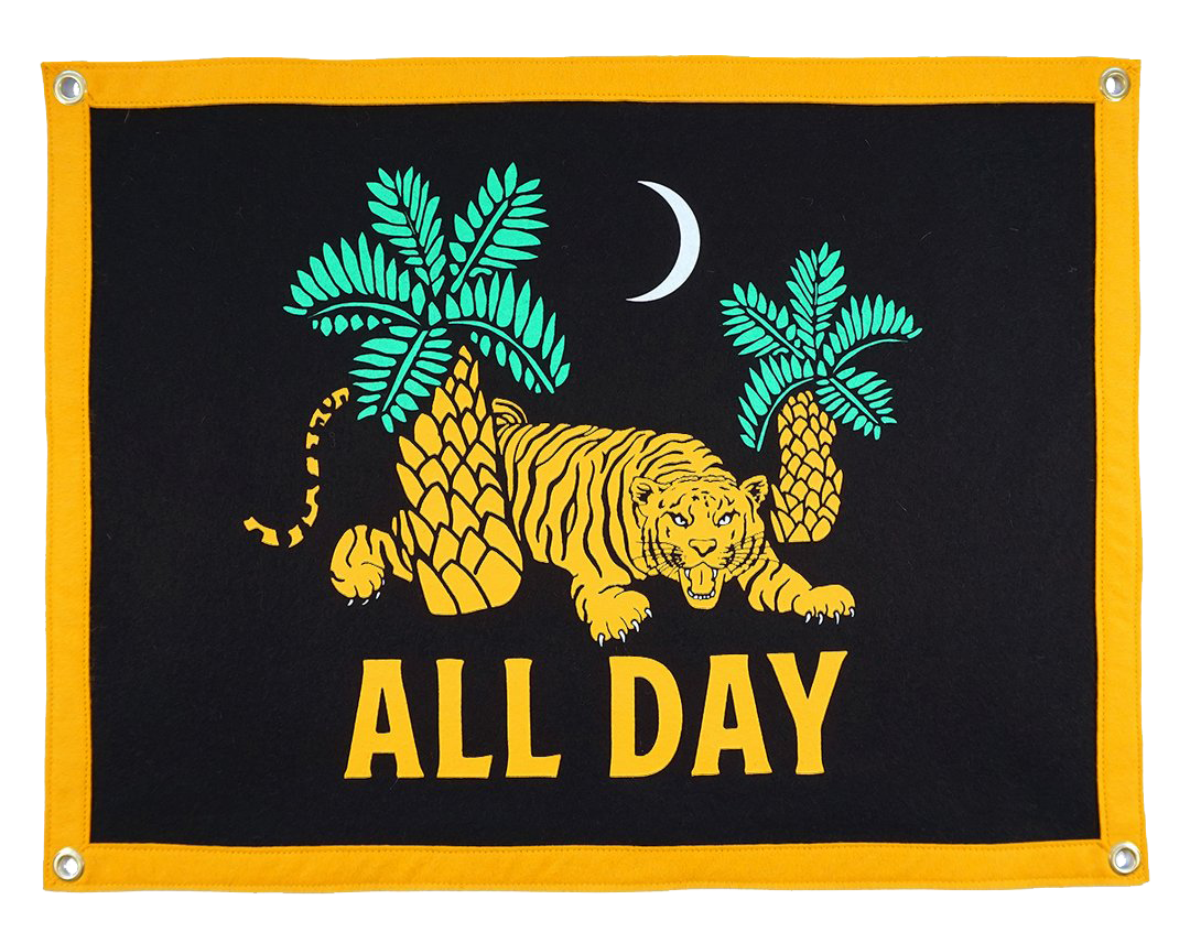 All Day Camp Flag