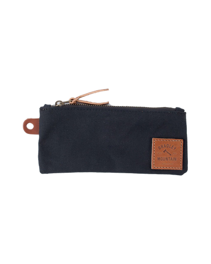 Zip Pencil Pouch - Black