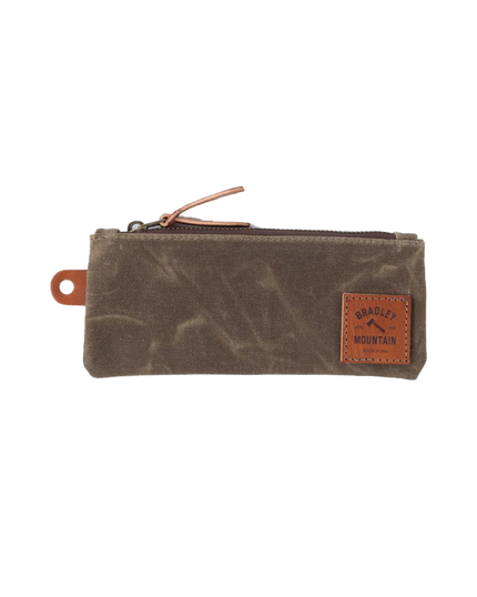 Zip Pencil Pouch - Field Tan