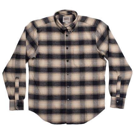 Easy Shirt - Brushed Plaid - Ivory