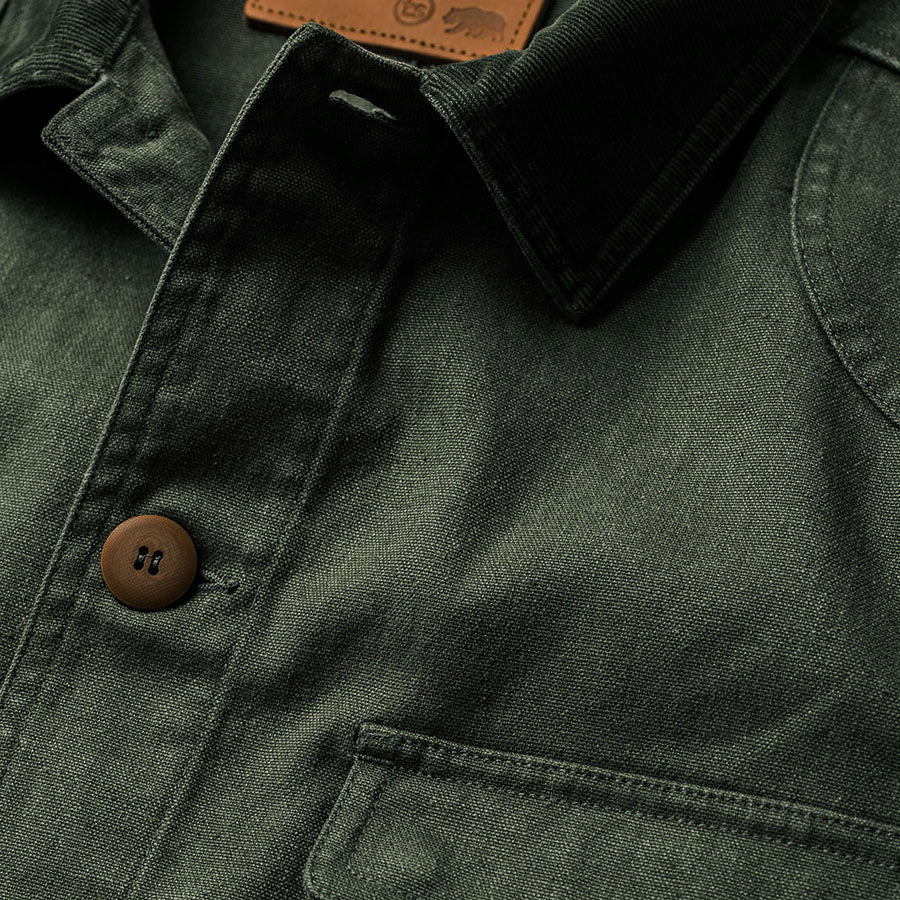 The Project Jacket - Olive Boss Duck