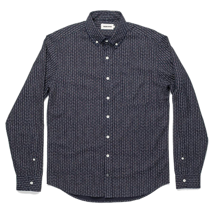 The Jack L/S Oxford - Cherry Blossom