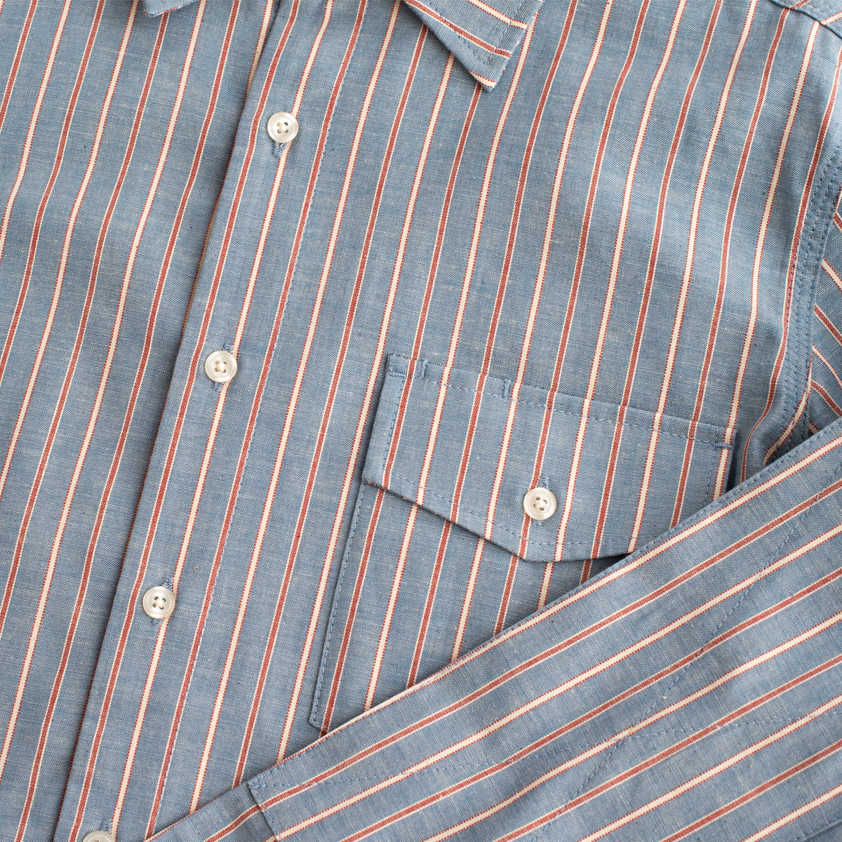 Oxford Shirt - Striped Selvedge