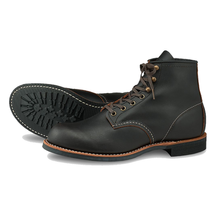 3345 Blacksmith - Black Prairie Leather
