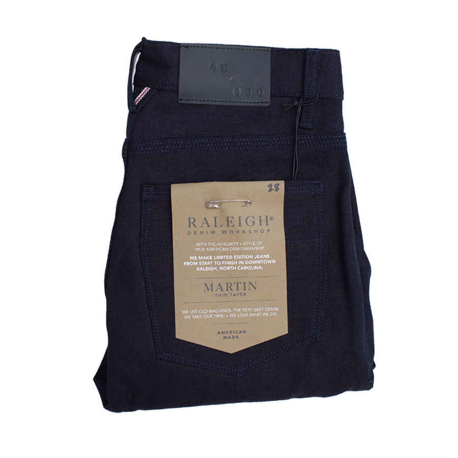 Martin Trouser - Blu Black Selvedge