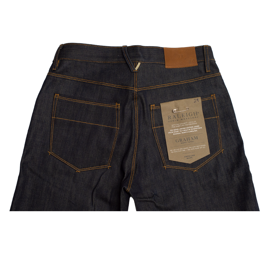12.5oz - Graham - OG Raw Selvedge