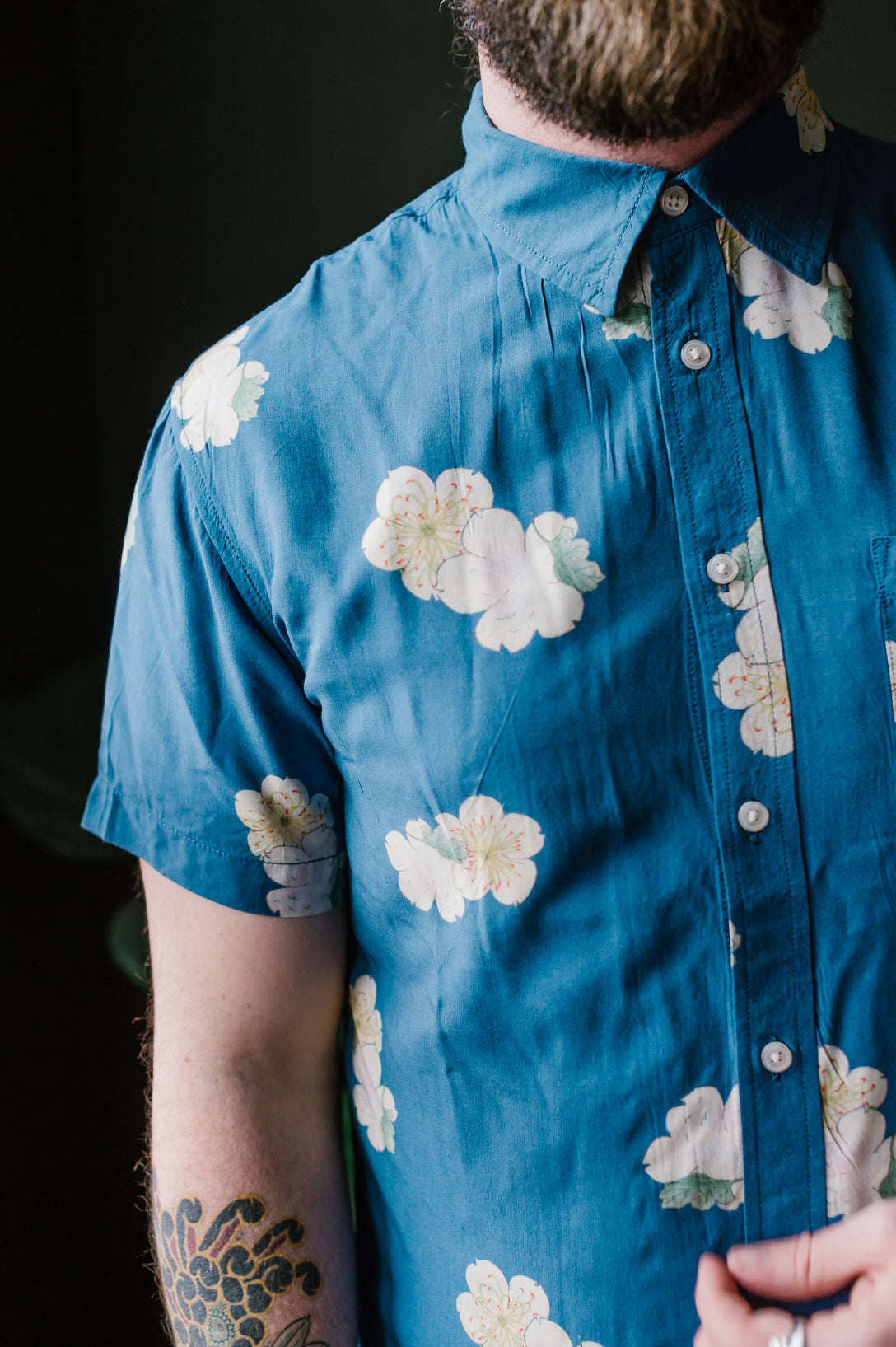 Blue Hawaiian S/S - Blue