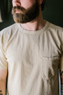 9oz Pocket T-Shirt - Cream