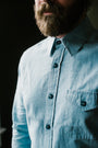 The Cash Shirt - Washed Hemp Chambray