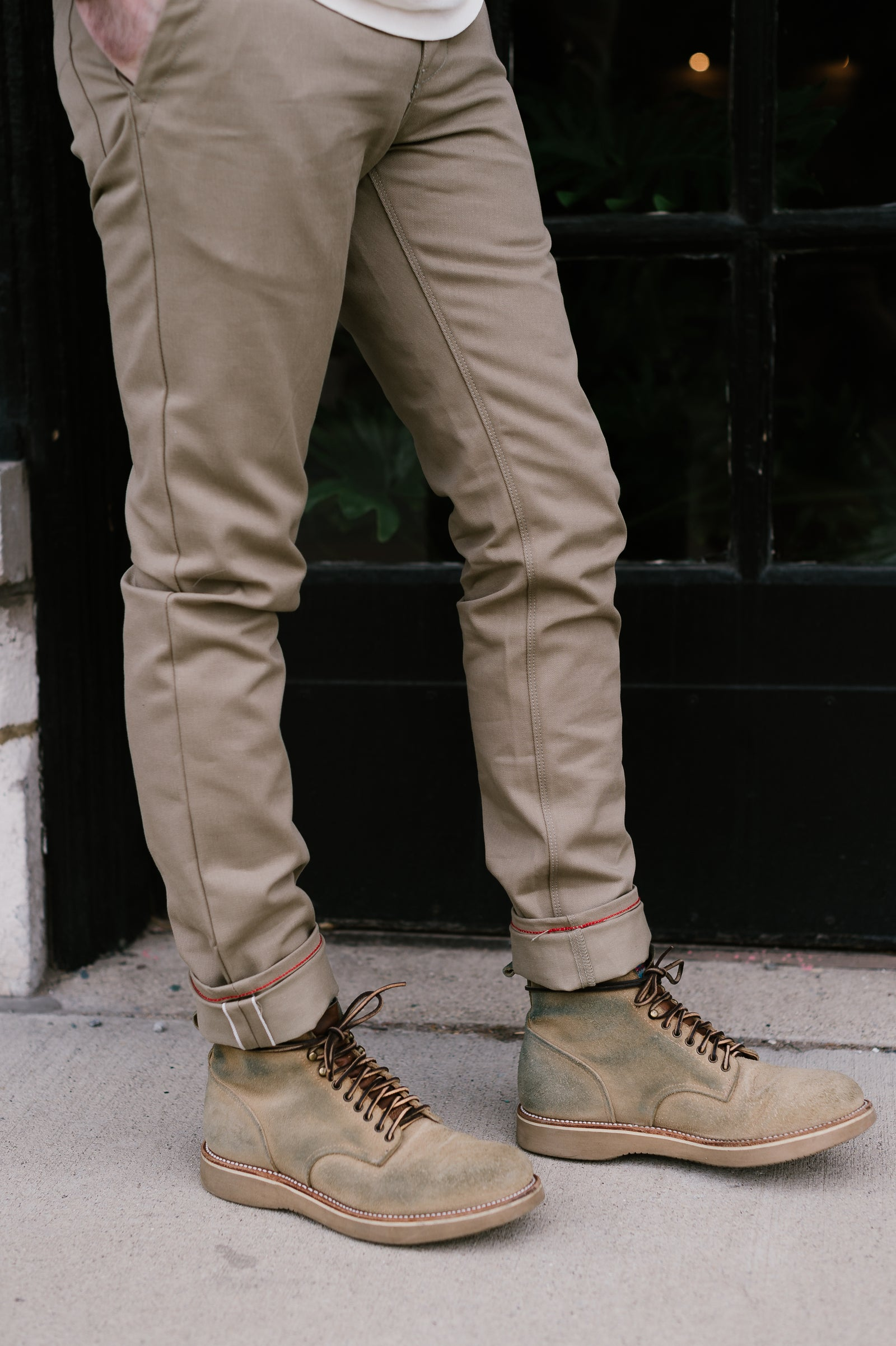 9oz - Martin Trouser - Dune Selvedge