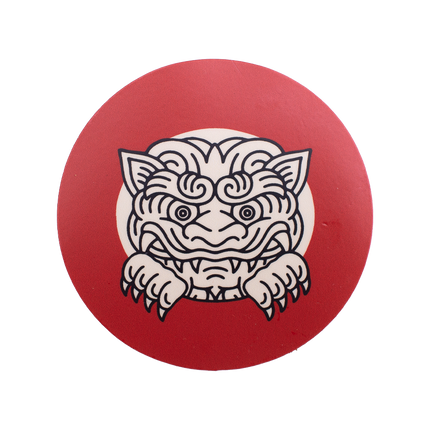 Sneak Peek Gargoyle Sticker - Red