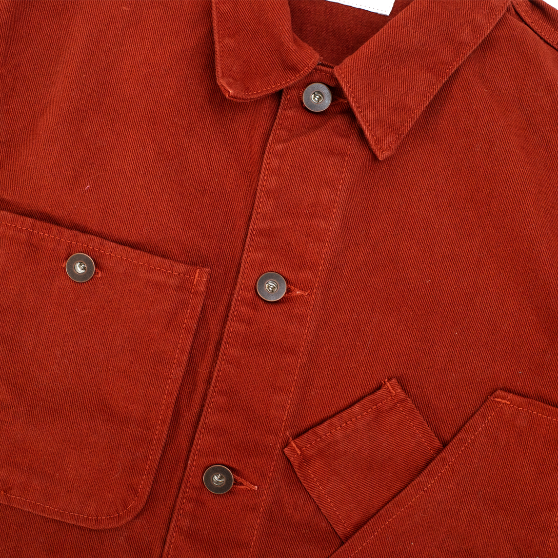 Coverall Jacket - Int'l Orange Garment Dye