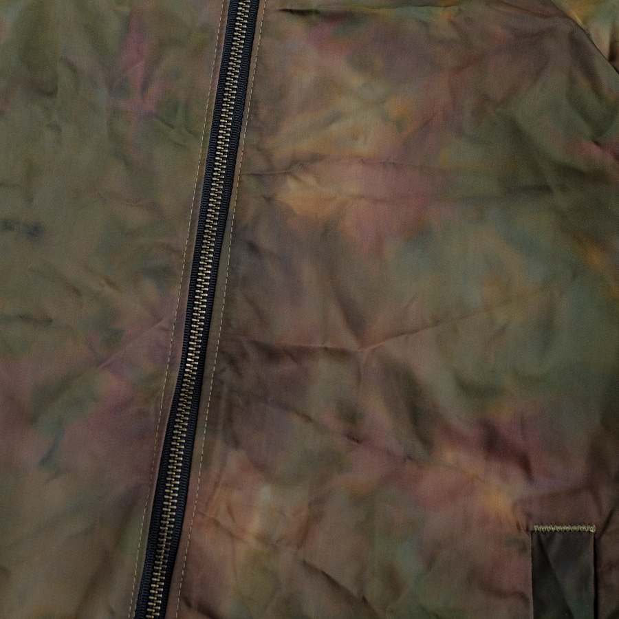Reversible Flight Jacket - Oil Camo/Olive Herringbone