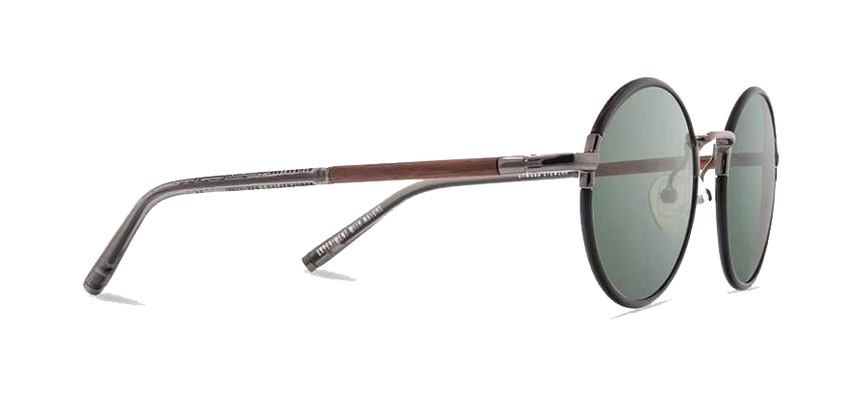 Hawthorne: Black Chrome // Mahogany - G15 Polarized
