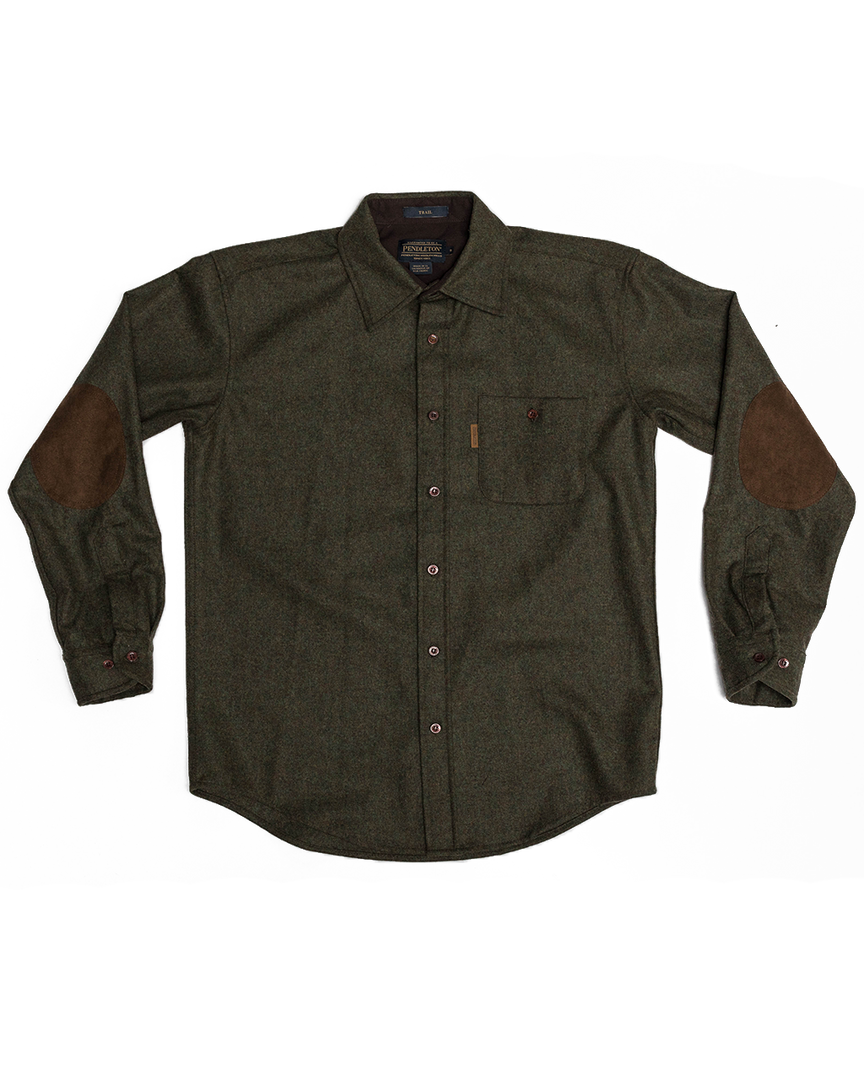 Fitted Trail Shirt - Green Mix