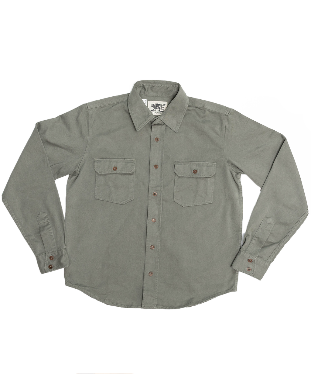 Alamo Button Up - M*A*S*H* Green