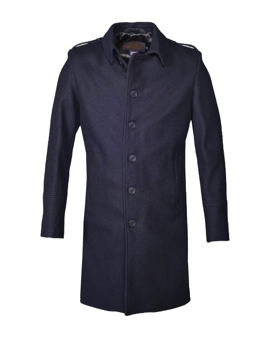 C729NE Wool Officer's Trenchcoat - New Navy
