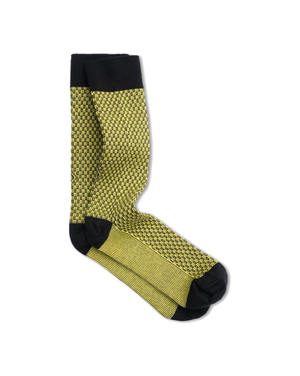 Campbell Sock - Caution Yellow