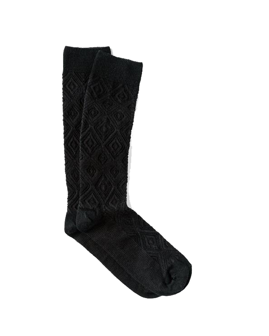 Mamba Sock - Ebony Wool