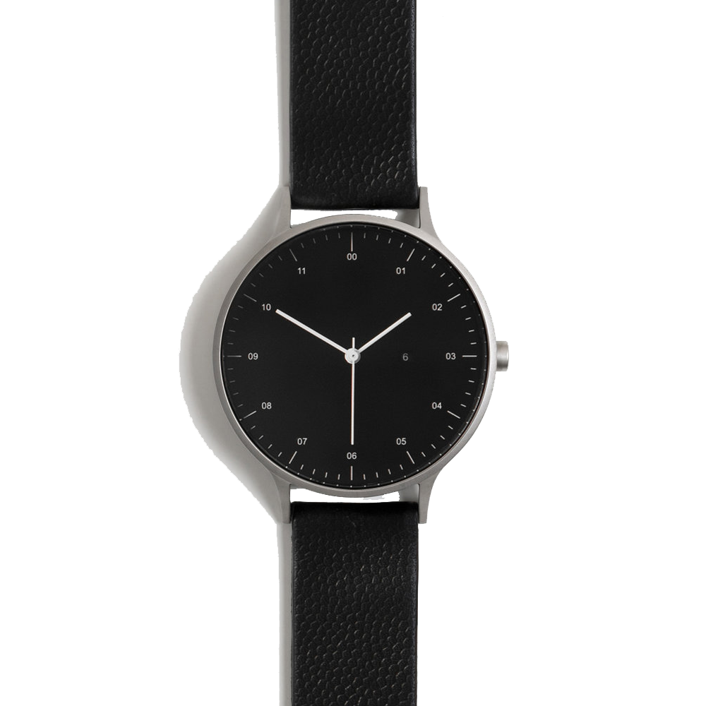 Instrmnt Watch - Silver/Black/Black