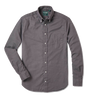 Vintage Button Down - Grey Hopsack