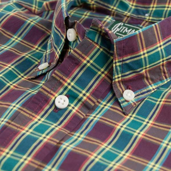 Vintage Button Down - Ashland Plaid