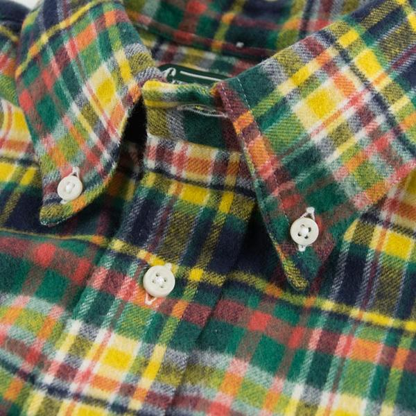 Hunter Plaid Flannel - Yellow/Green/Navy