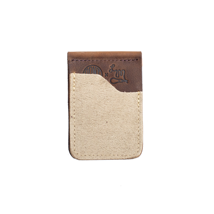 Cannon Card Wallet - Desert Oasis Roughout